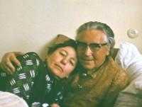 Su Ieva Simonaityte. 1971 m.