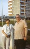 Su Eugenijumi Matuzevičiumi. 1976 m.