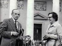 Su Antanu Miškiniu. 1975 m.