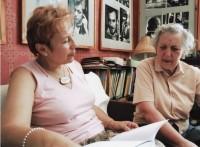 Su Aldona Ruseckaite. 2005 m.Z. Baltrušio nuotr