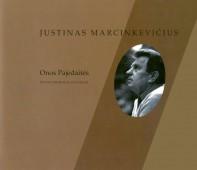 """Pajedaitė O. Justinas Marcinkevičius: fotoparodos katalogas: perkelta iš kompaktinės plokštelės """"Lietuvių rašytojai klasikai ir A. Mickevičius"""". Vilnius: Petro ofsetas, 2010. 39, [1] p."""
